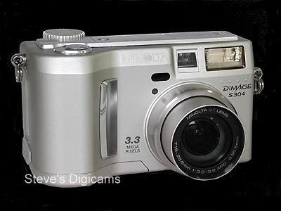 معرفی دوربین-Minolta DiMAGE S۳۰۴