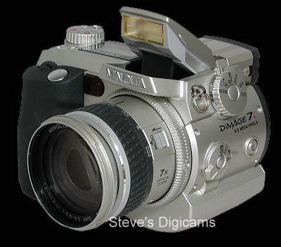 معرفی دوربین -Minolta Dimage7i