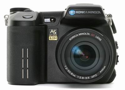 معرفی دوربین Konica Minolta DiMAGE A2