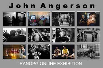 نمایشگاه جان انگرسون در سایت Iranqpg