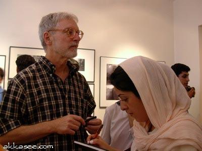 گفتگو با تری برت در نمایشگاه گالری اثر