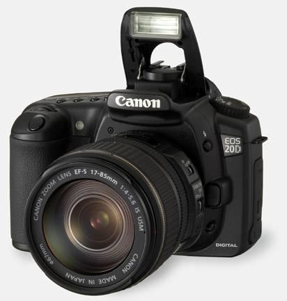 معرفی مختصر Canon EOS 20D