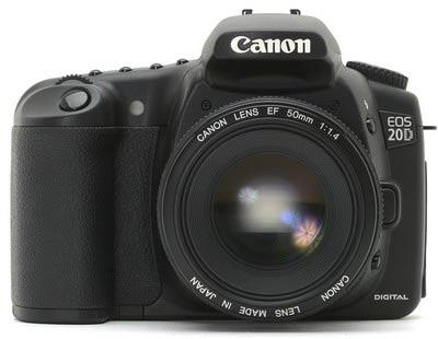 انتخابی دیگر:Canon EOS ۳۵۰D  یا Canon EOS ۲۰D