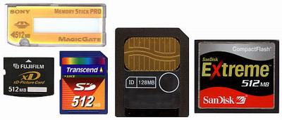 کارتهای حافظه