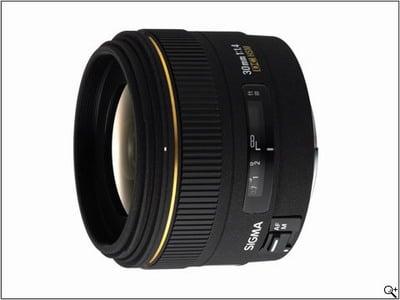 معرفی لنز  Sigma 30mm F1.4 EX DC HSM