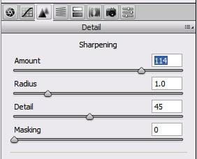 بررسی ویژگیهای جدید پردازشگر RAW در ACR 4.1 و Lightroom: قسمت اول؛ شارپ سازی