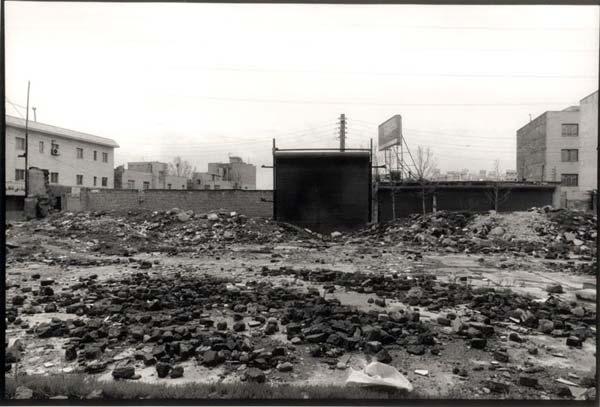 سیاوش ینصری،محدوده میدان بنی هاشم،قبل از ساخت بزرگراه شهید صیاد شیرازی،تابستان۱۳۸۶