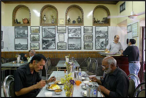 مهدی بدیعی،رستوران،مرداد۱۳۸۵