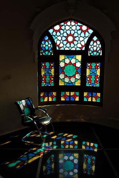 حسن غفاری،نمای داخلی ساختمان کوشک،۱۳۸۶