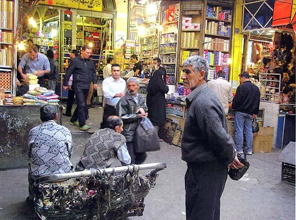فرشته فرمانی،بازار بزرگ تهران،آبان ۱۳۸۶