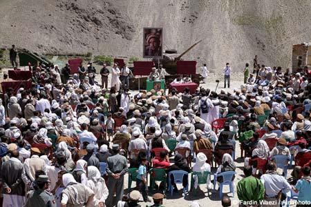 گزارش نمایشگاه عکس رضا دقتی در دره پنجشیر
