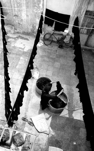 حسن سلطانی تهرانی – لباس عاشورا – عکس ۱