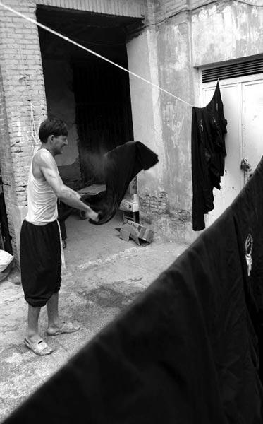 حسن سلطانی تهرانی – لباس عاشورا – عکس ۳