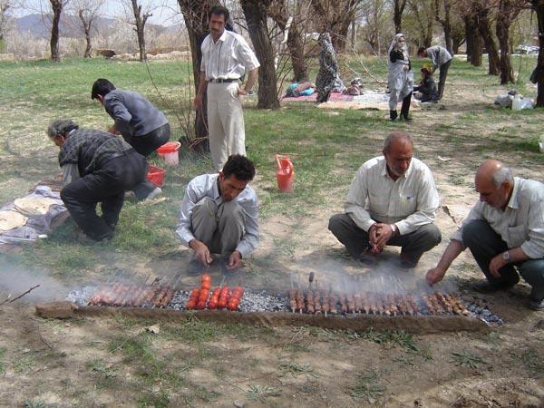 مجید یزدانی،سیزده بدر، اصفهان