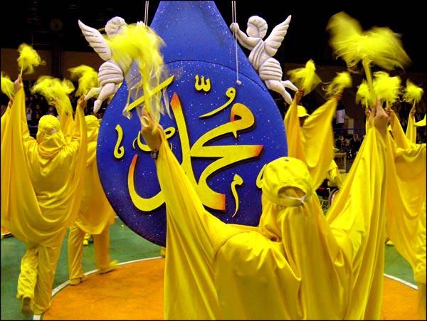 سید مجتبی خاتمی، میلاد حضرت رسول(ص)، مشهد