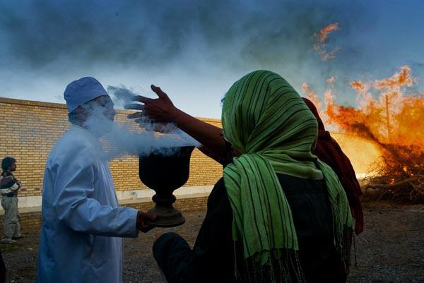 مرضیه ایوتین – جشن هیرو مبا – شریف آباد اردکان – عکس ۳