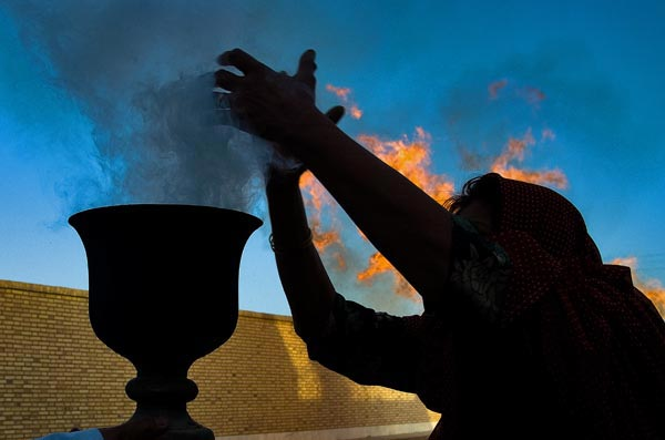 مرضیه ایوتین – جشن هیرو مبا – شریف آباد اردکان – عکس ۲