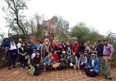 گزارش تور نشریه عکاسی خلاق در قلعه رودخان