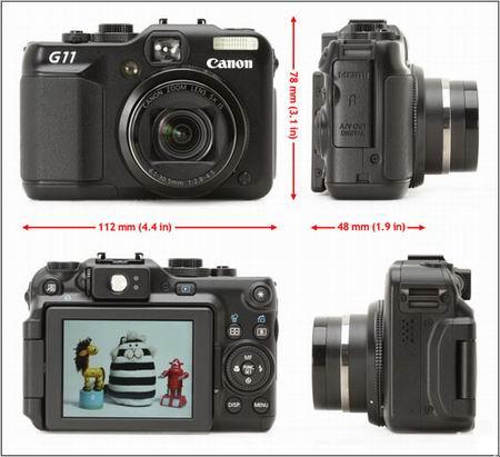 معرفی Canon PowerShot G11