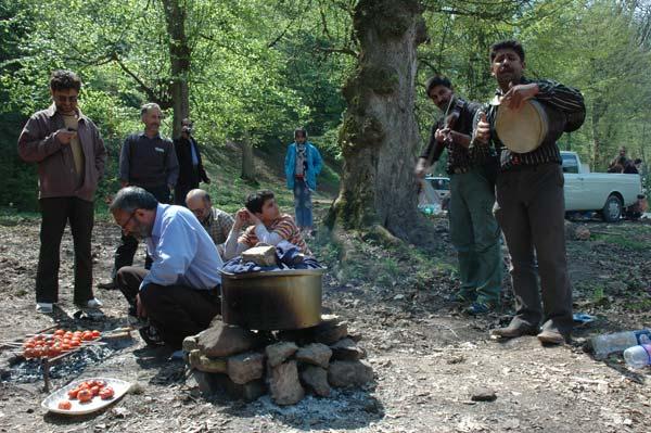 محمدعلی خراسانی، جنگل توسکستان،گرگان