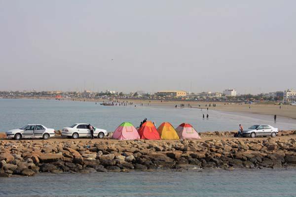سید حسن رضوی،ساحل بندر گناوه، استان بوشهر
