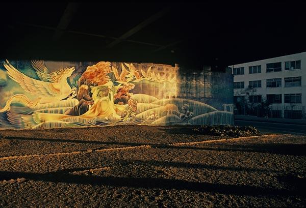 دیوارنگاره ها – عکاسی آنالوگ .۶۰×۴۰سانتیمتر – ۱۳۶۷ – عکس ۳