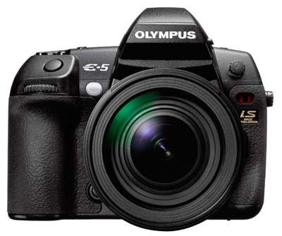 معرفی دوربین جدید Olympus E5