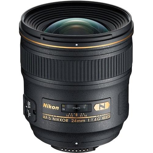 معرفی لنز Nikkor AF-S ۲۴mm f/۱.۴ G ED