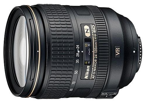 معرفی لنز Nikkor AF-S ۲۴-۱۲۰mm f/۴G VR
