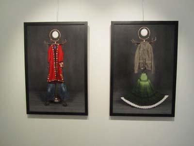 گزارشی از نمایشگاه مونا بزرگی در گالری آتبین