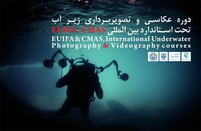 برگزاری دوره آموزش تخصصی عکاسی زیر آب