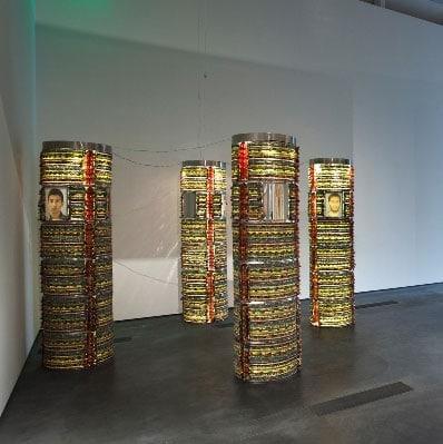 چیدمان تیرافکن در موزه هنرهای اسلامی قطر