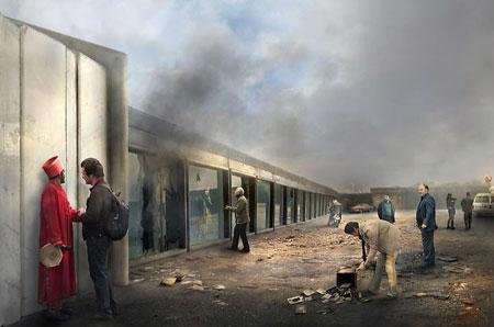 نمایشگاه مجید کورنگ بهشتی در گالری ایام دبی