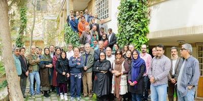 گردهمآیی مدرسین و همکاران آموزشگاه عکاسی حرفهای