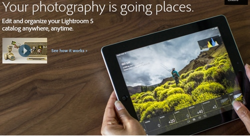 بررسی نقش Lightroom Mobile در عکاسی دیجیتال
