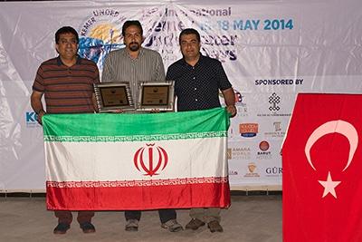 موفقیت نماینده عکاسی زیر آب ایران در مسابقات ترکیه