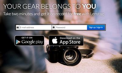 ردیابی تجهیزات عکاسی و تصاویر سرقتی با Lenstag