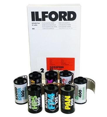 انتشار فهرست جدید محصولات سیاه و سفید «ایلفورد»