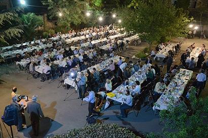 مراسم افطاری انجمن عکاسان انقلاب و دفاع مقدس