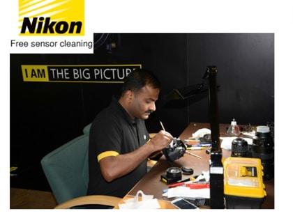 پاک کردن رایگان سنسور انواع دوربینهای DSLR نیکون