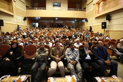 مراسم افتتاحپنجمین جشنوارهٔ ملی عکس فیروزه در تبریز