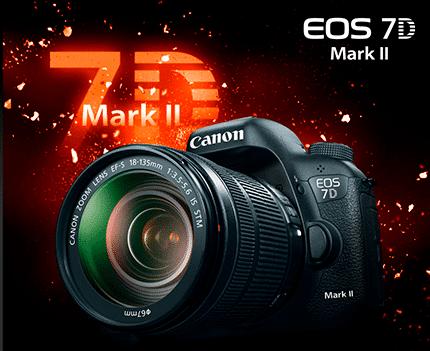 معرفی دوربین جدید Canon EOS ۷D Mark II