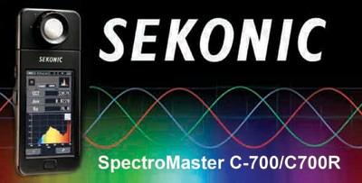 معرفی کالرمتر و طیفسنجSEKONIC C-700/C700R