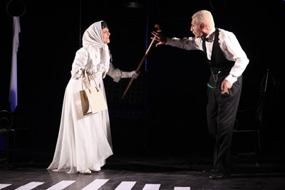 نمایش «شب بخیر جناب کنت» در فرهنگسرای نیاوران