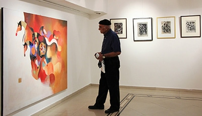 گزارش نمایشگاه محمدعلى ترقىجاه در گالری شکوه