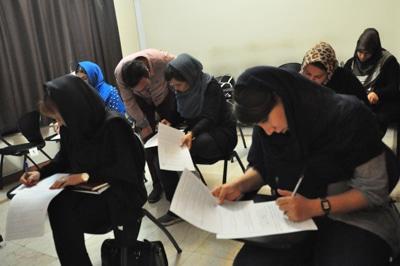 برگزاری هفتمین آزمون رسمی آموزشگاه عکاسی حرفهای