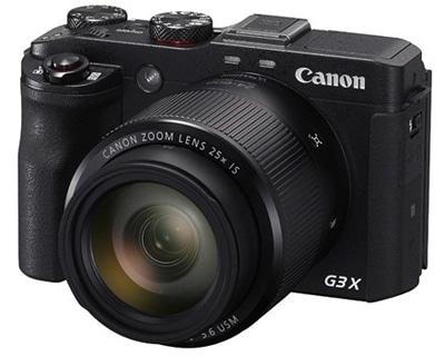 مشخصات فنی دوربین کامپکت Powershot G3X