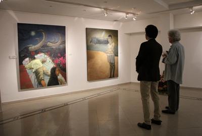 وقتی گاومیشهای آبادان سوژه یک نقاش بشوند