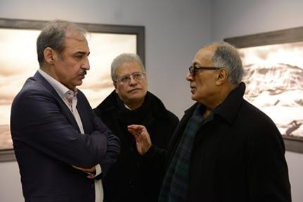منتخبى از ٣٠ سال عکاسى عباس کیارستمى در گالری بوم