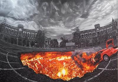 نمایشگاه نقاشی زهرا قیاسی در گالرى شکوه